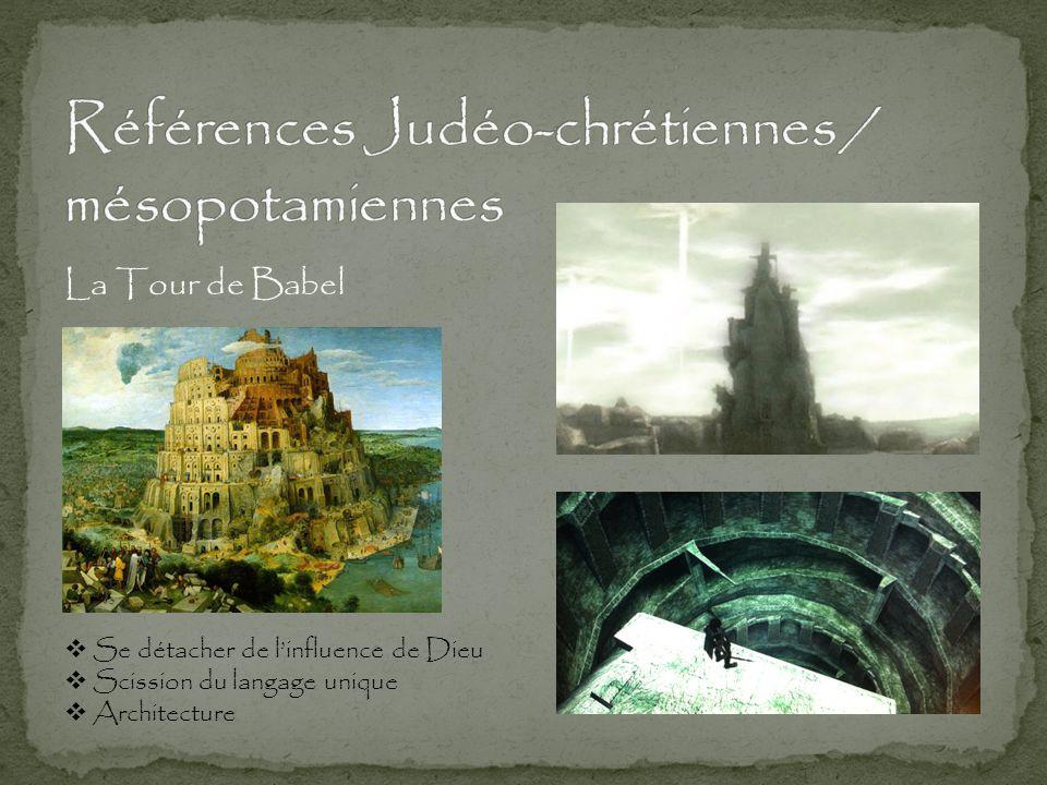 Références Judéo-chrétiennes / mésopotamiennes