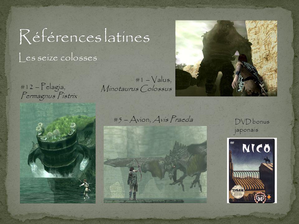 Références latines Les seize colosses #1 – Valus, Minotaurus Colossus