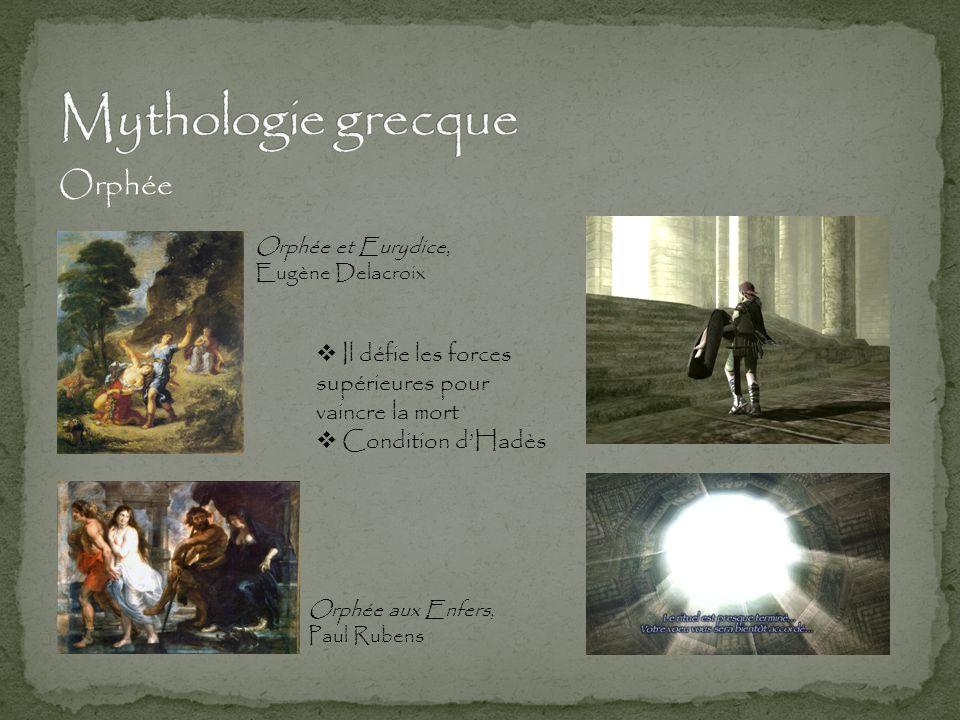 Mythologie grecque Orphée Il défie les forces supérieures pour