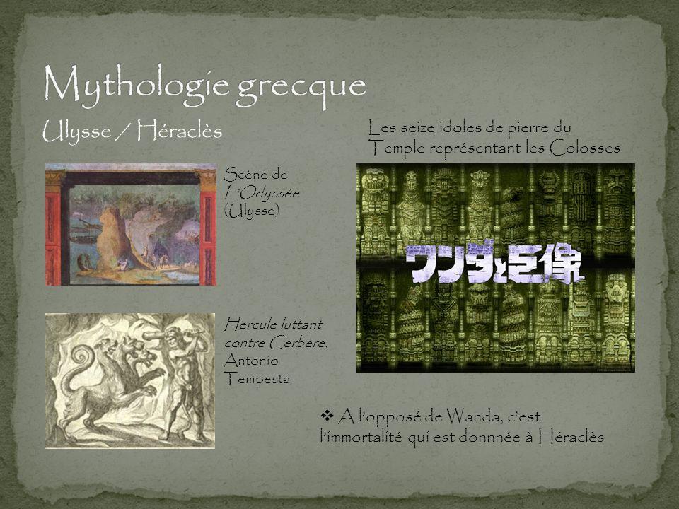 Mythologie grecque Ulysse / Héraclès Les seize idoles de pierre du