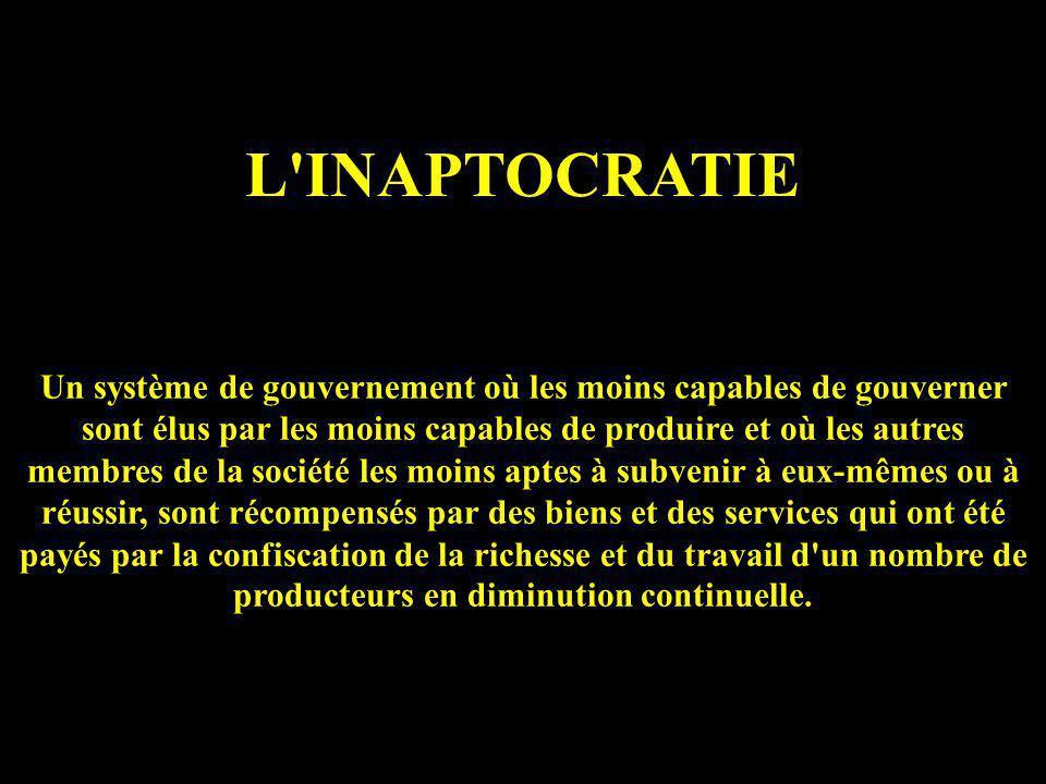 L INAPTOCRATIE