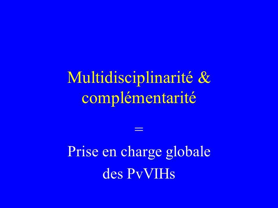 Multidisciplinarité & complémentarité