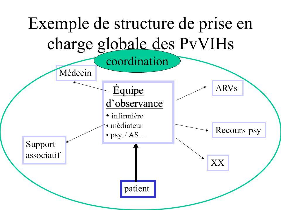 Exemple de structure de prise en charge globale des PvVIHs