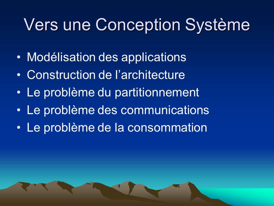 Vers une Conception Système