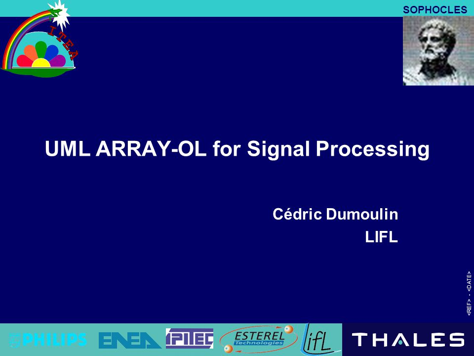 UML ARRAY-OL for Signal Processing