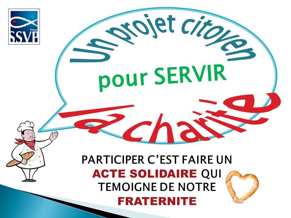 Un projet citoyen la charité pour SERVIR
