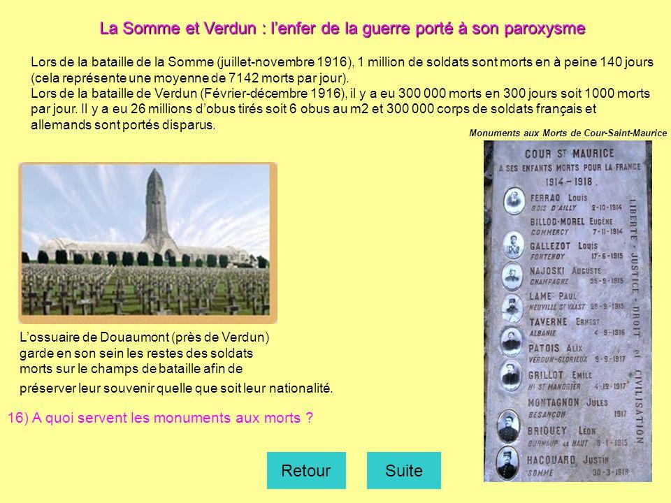 La Somme et Verdun : l'enfer de la guerre porté à son paroxysme