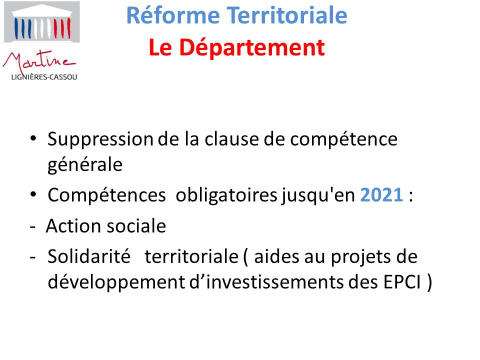 Rencontres projet reforme 1