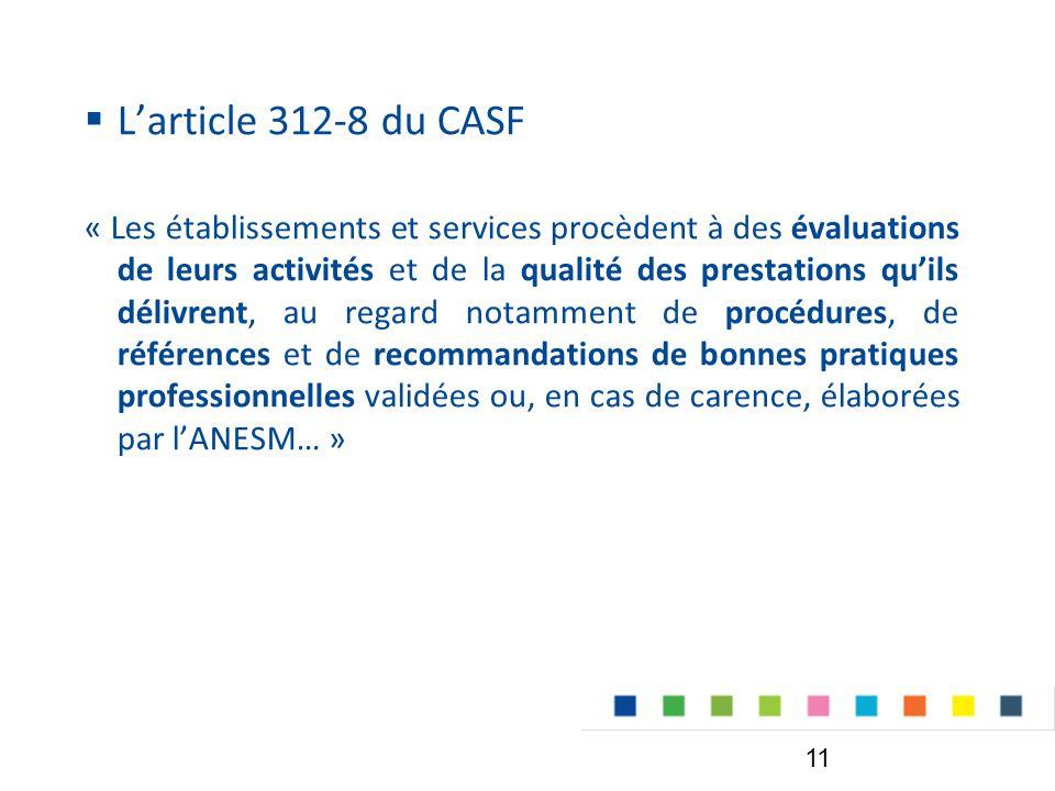 L'article 312-8 du CASF