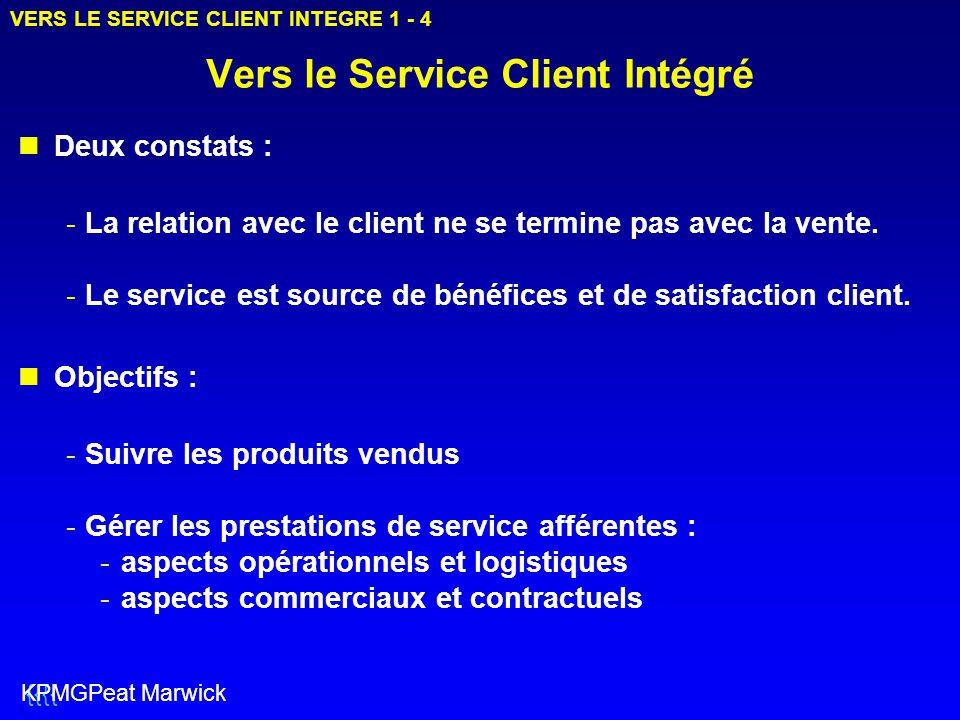 Vers le Service Client Intégré