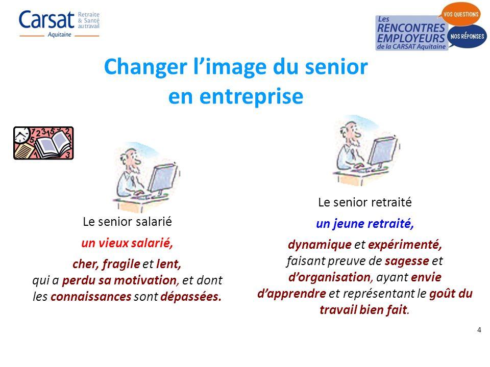 Changer l'image du senior en entreprise