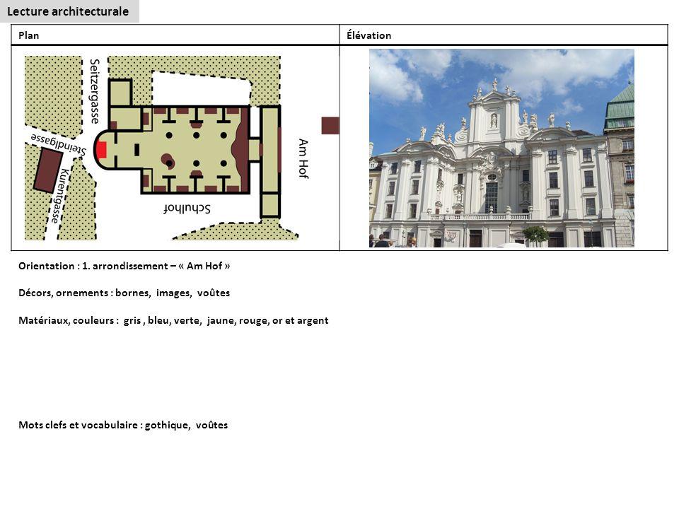 Lecture architecturale