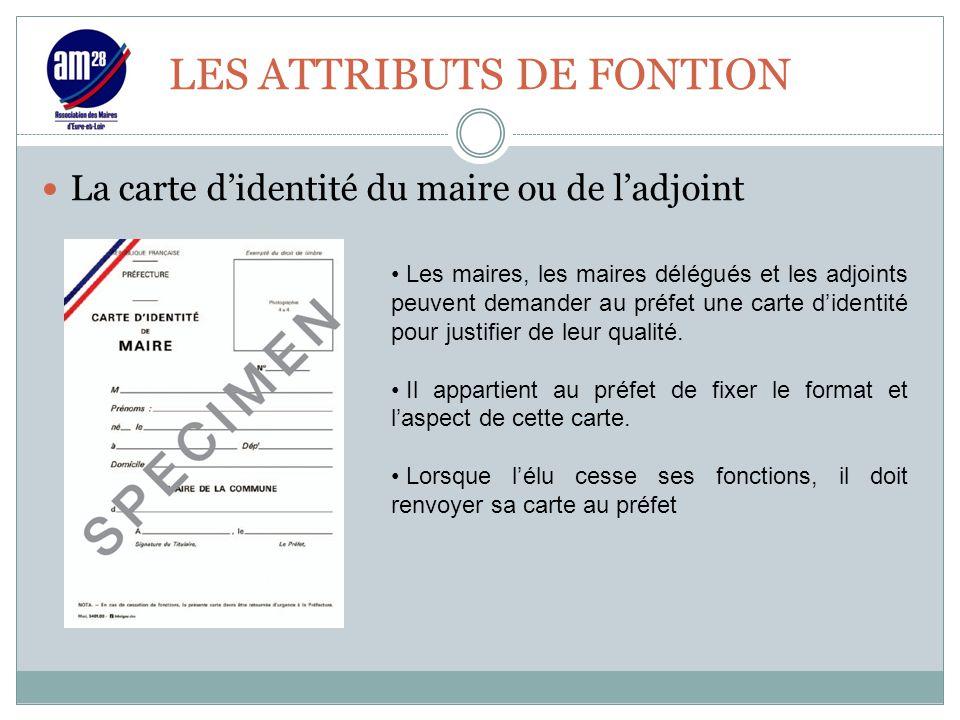 LES ATTRIBUTS DE FONTION