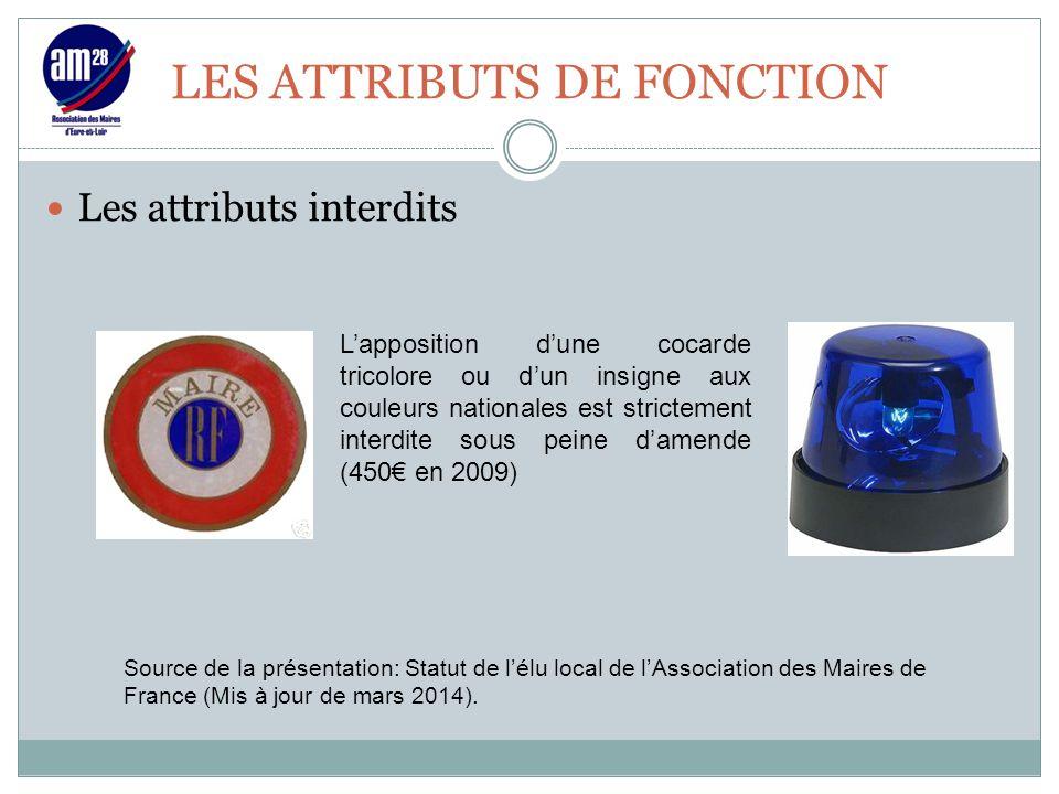 LES ATTRIBUTS DE FONCTION