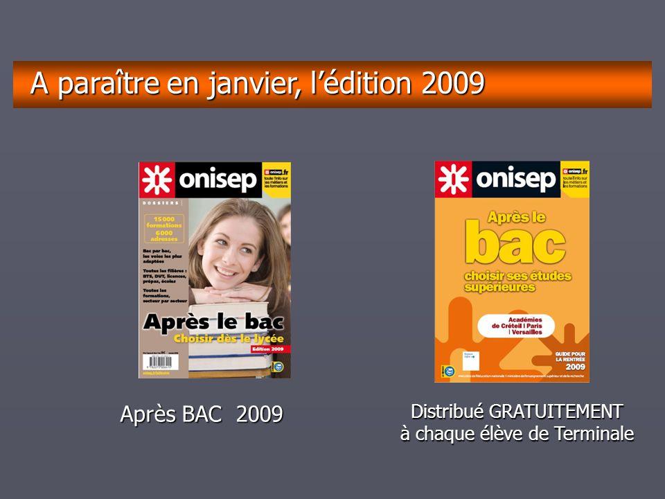 A paraître en janvier, l'édition 2009
