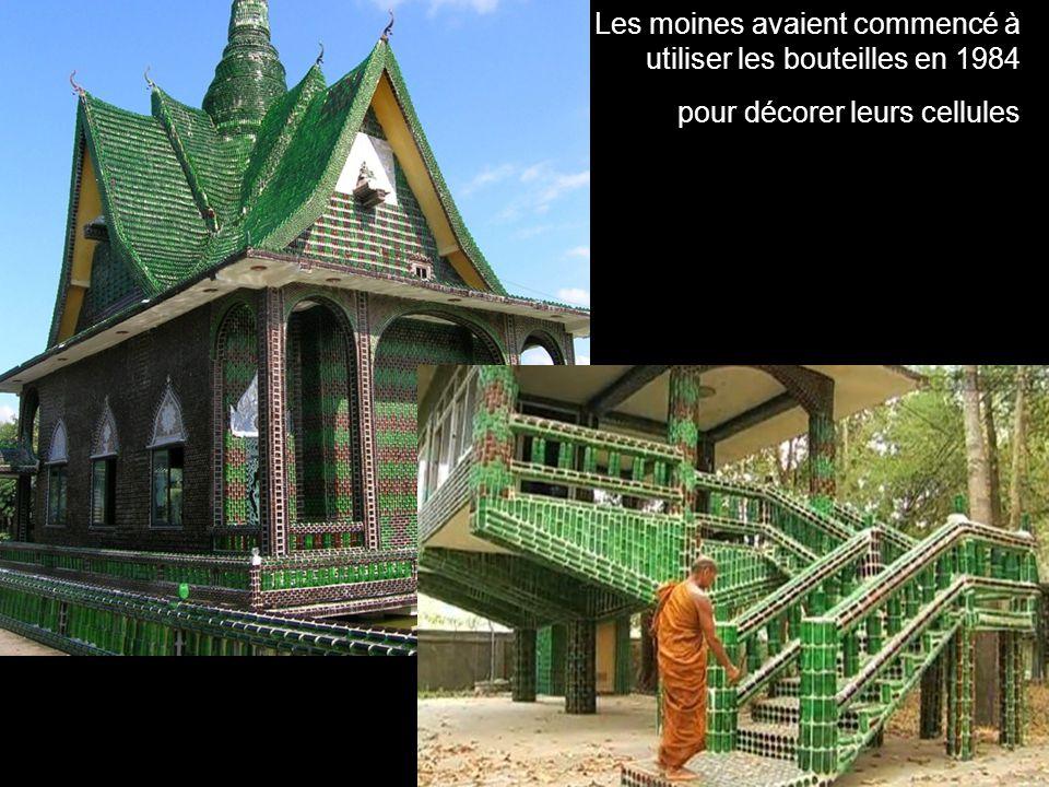 Les moines avaient commencé à utiliser les bouteilles en 1984