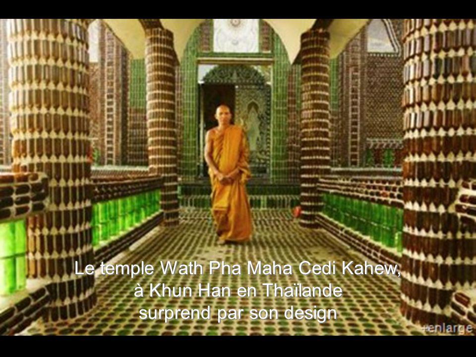 Le temple Wath Pha Maha Cedi Kahew, à Khun Han en Thaïlande