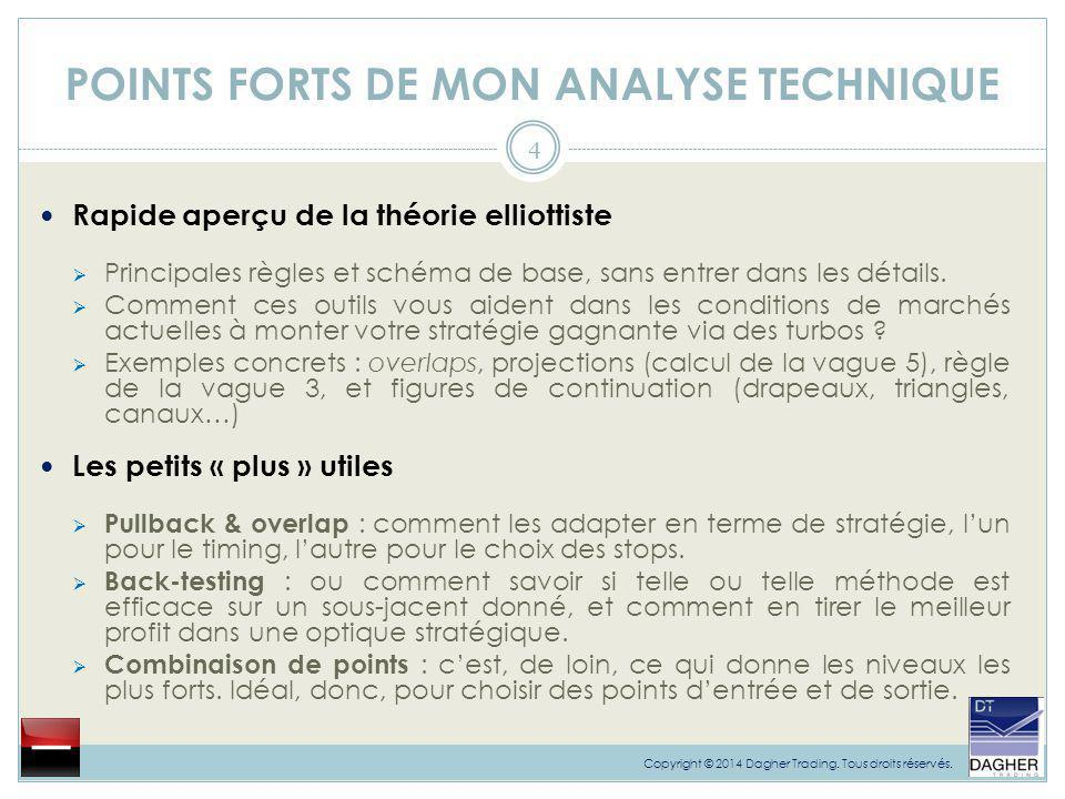 POINTS FORTS DE MON ANALYSE TECHNIQUE