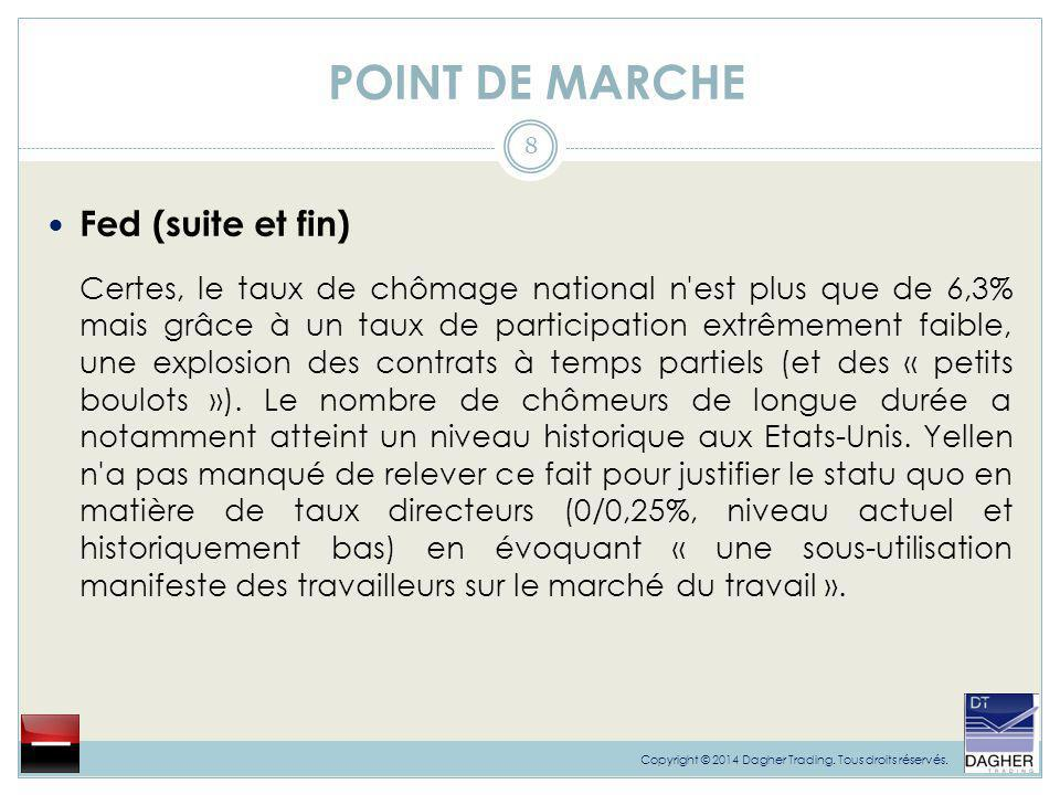 POINT DE MARCHE Fed (suite et fin)