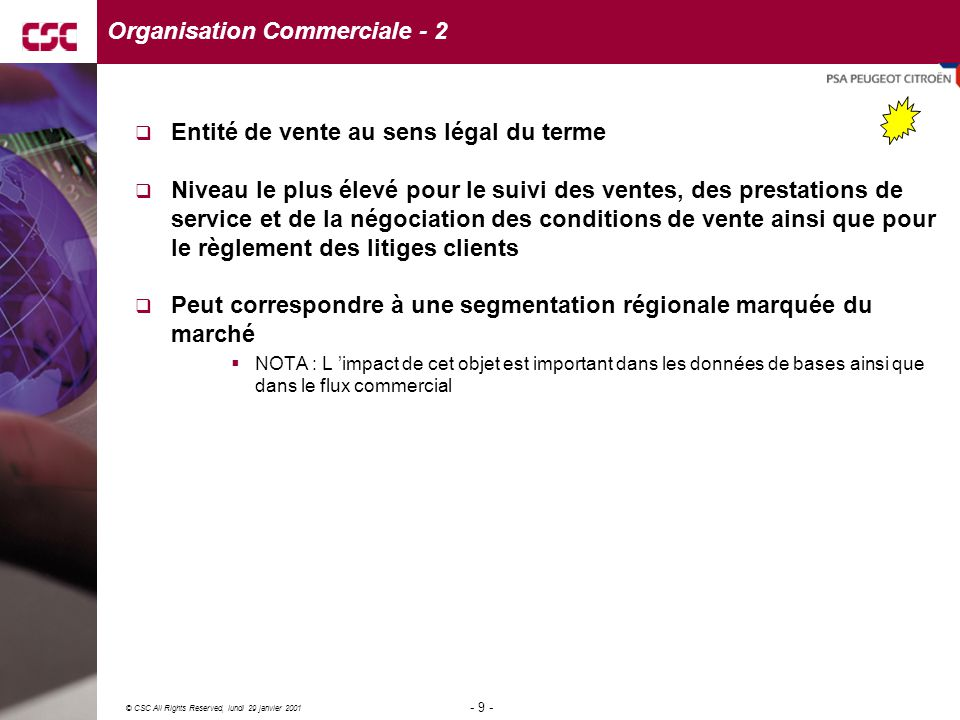 Organisation Commerciale - 2
