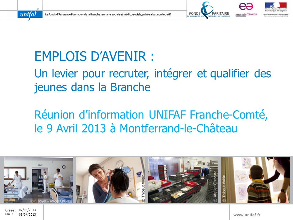 EMPLOIS D'AVENIR : Un levier pour recruter, intégrer et qualifier des jeunes dans la Branche.