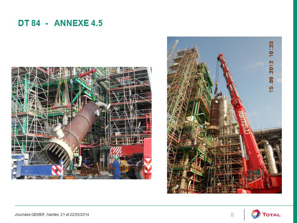 Dt 84 - annexe 4.5 Journées GEMER .Nantes .21 et 22/05/2014
