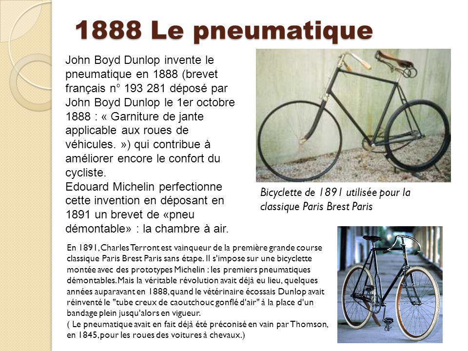 1888 Le pneumatique