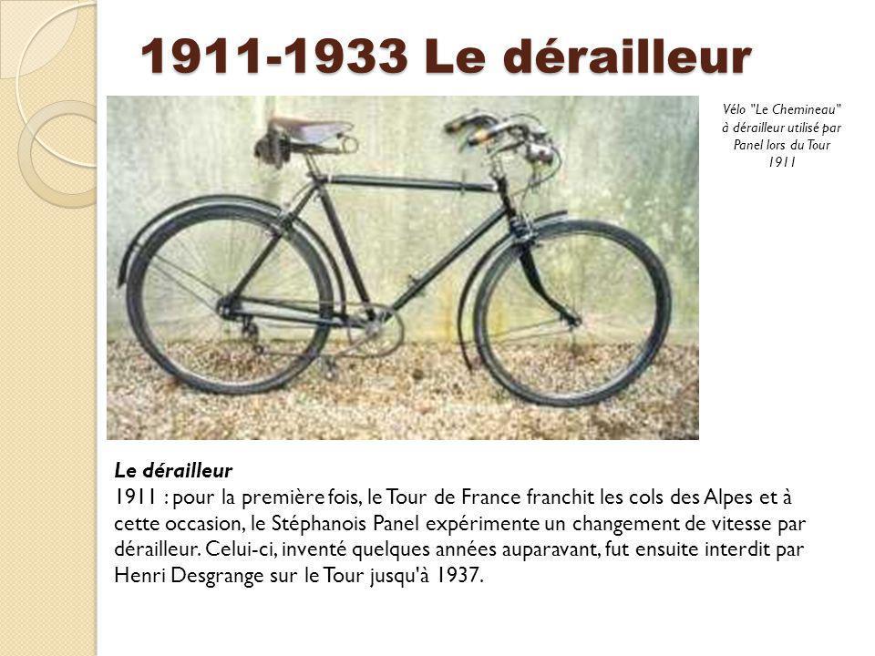 Vélo Le Chemineau à dérailleur utilisé par Panel lors du Tour 1911