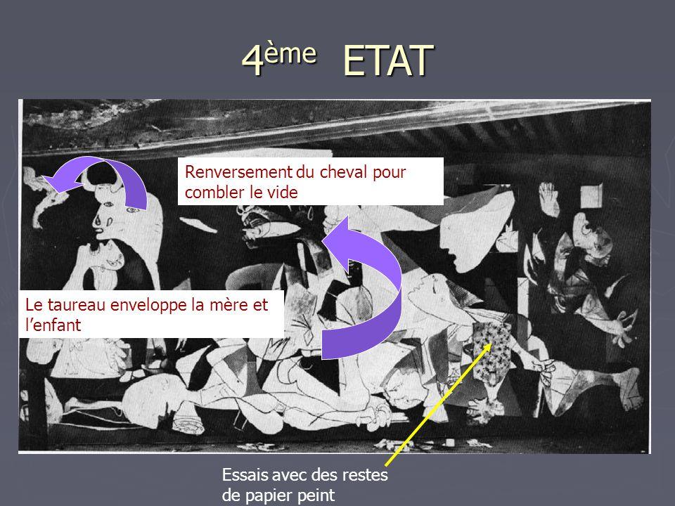 4ème ETAT Renversement du cheval pour combler le vide