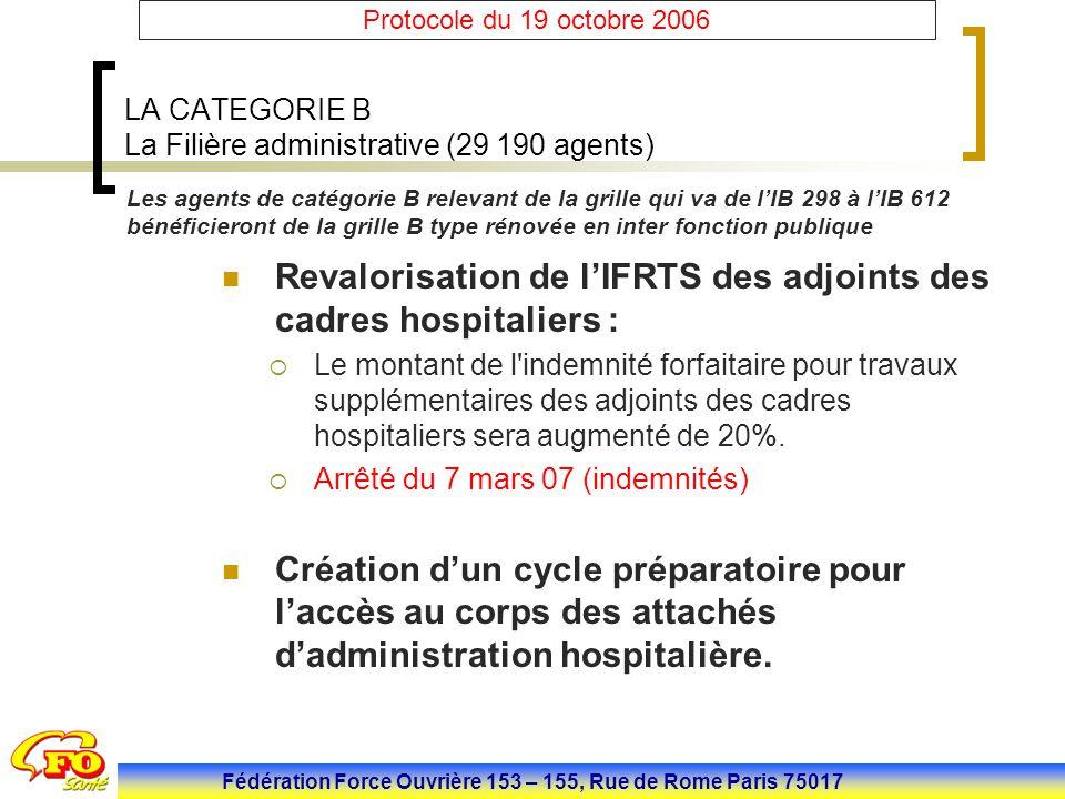 Mise en place jacob et protocole f p h du 19 octobre ppt - Grille attache d administration hospitaliere ...