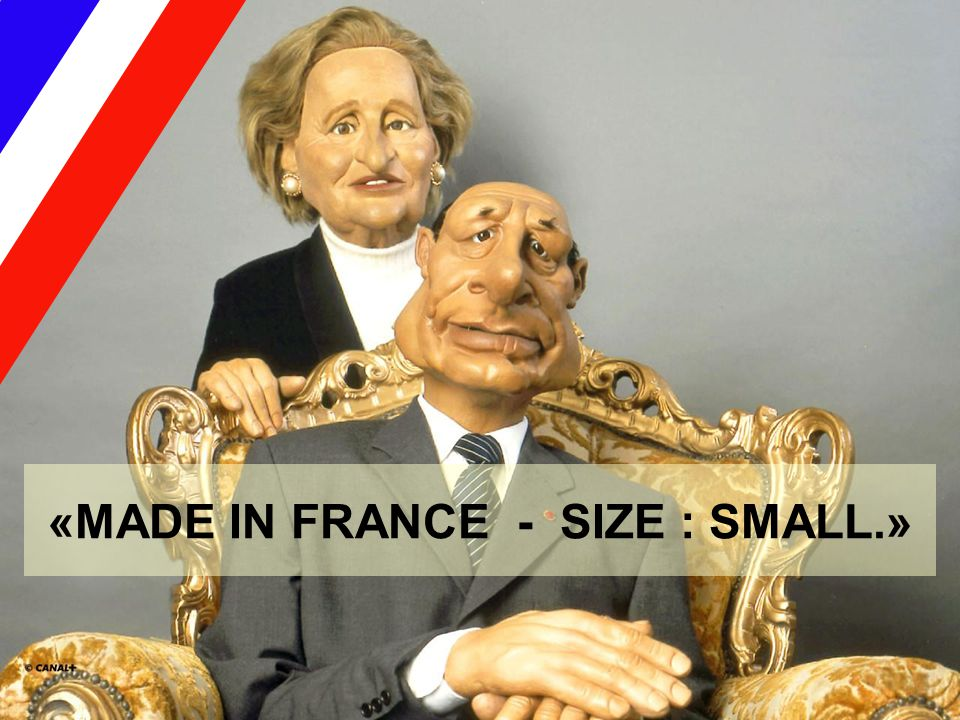 «MADE IN FRANCE - SIZE : SMALL.»