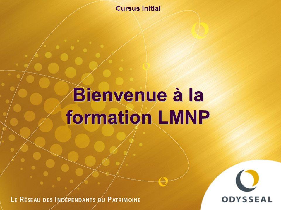 Bienvenue à la formation LMNP