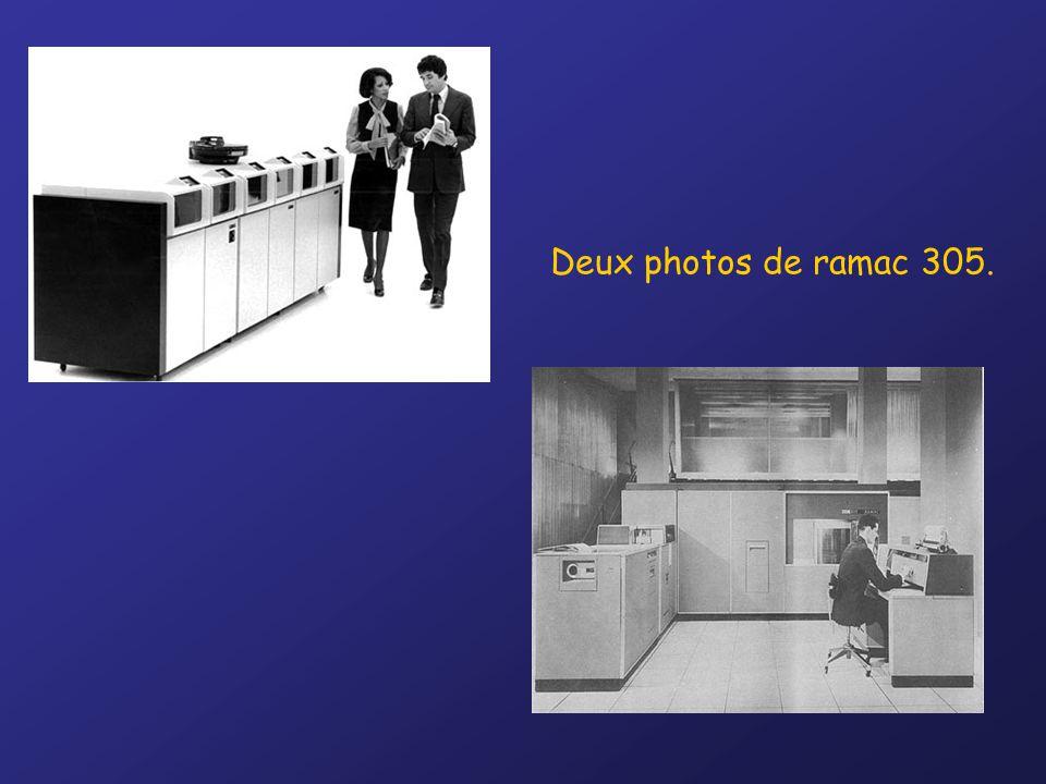 Deux photos de ramac 305.