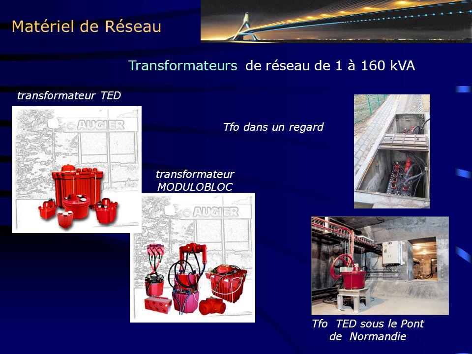 Matériel de Réseau Transformateurs de réseau de 1 à 160 kVA