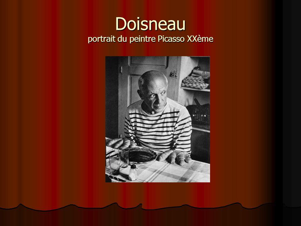 Doisneau portrait du peintre Picasso XXème