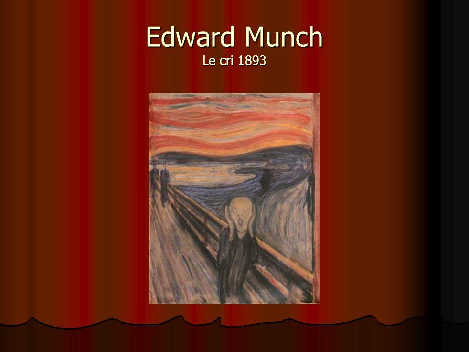 Edward Munch Le cri 1893