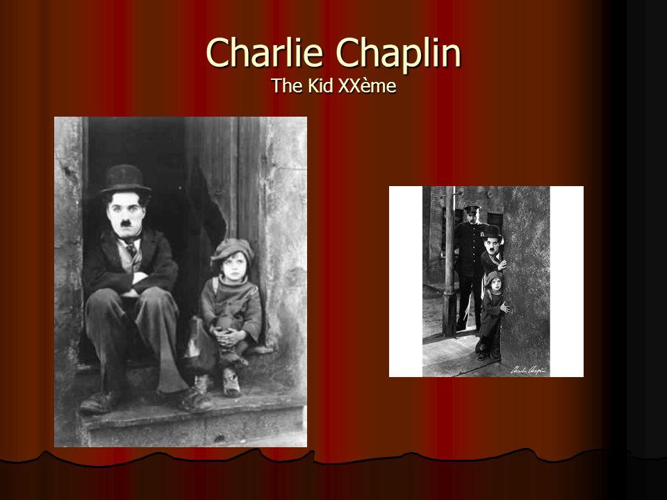 Charlie Chaplin The Kid XXème