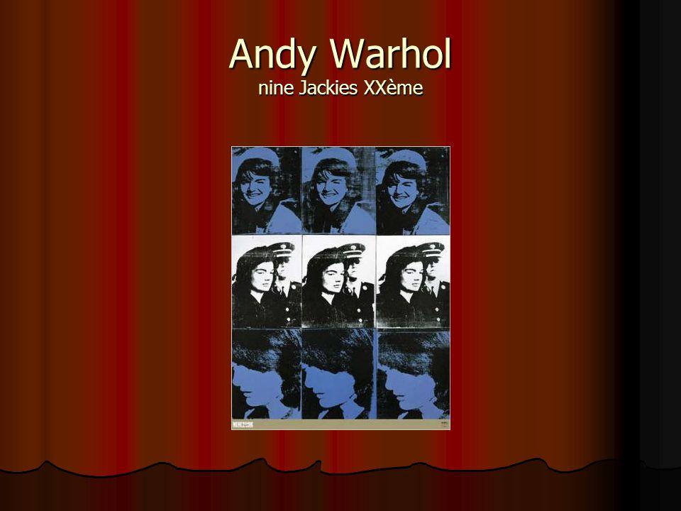 Andy Warhol nine Jackies XXème
