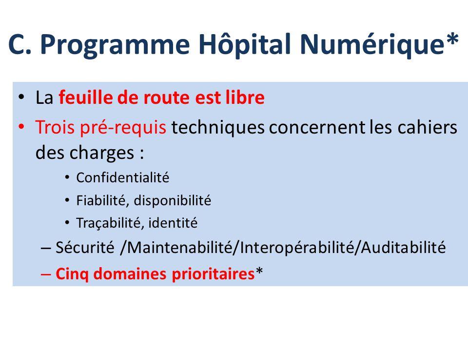 C. Programme Hôpital Numérique*