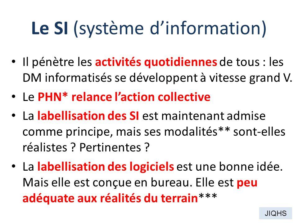 Le SI (système d'information)
