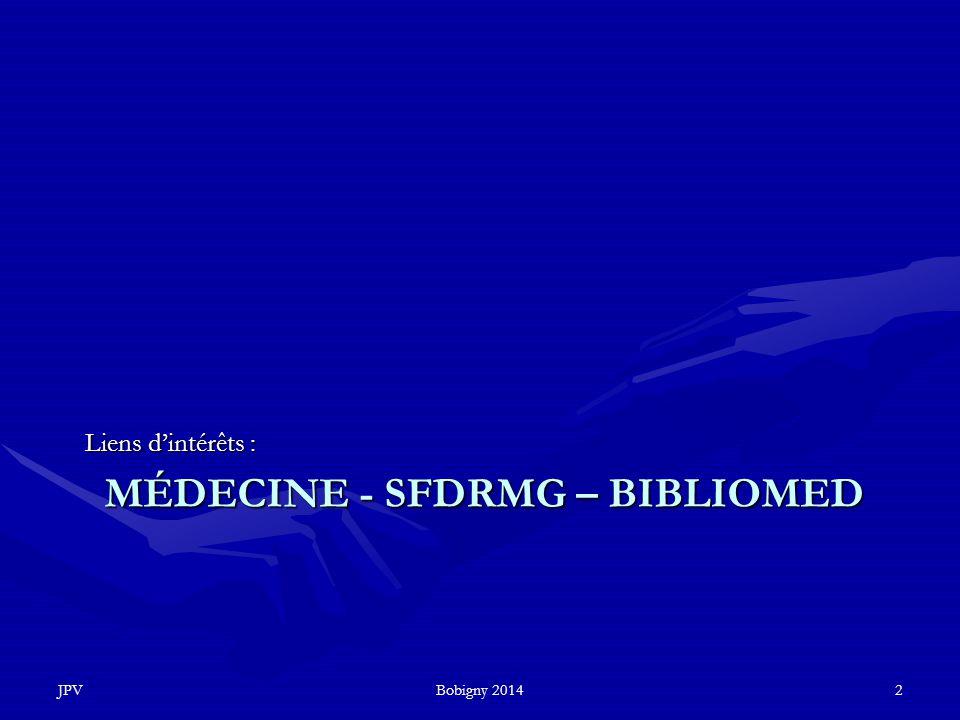 Médecine - SFDRMG – Bibliomed