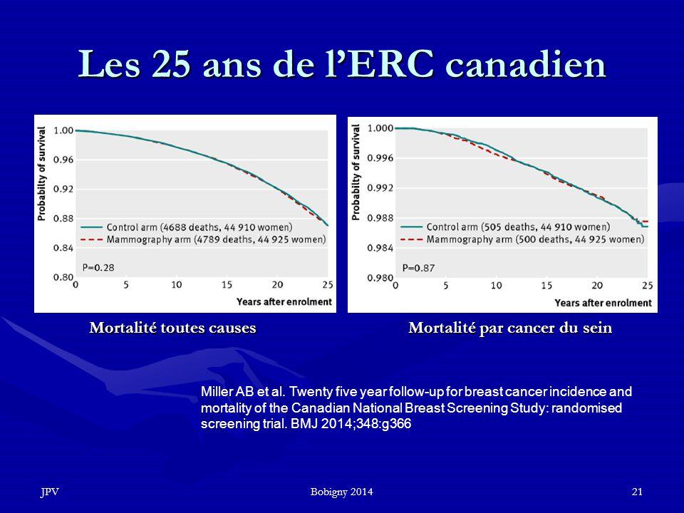 Les 25 ans de l'ERC canadien