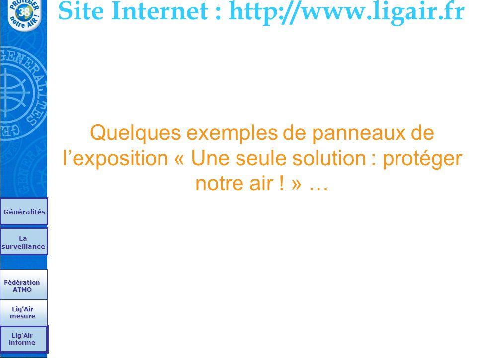 Site Internet : http://www.ligair.fr