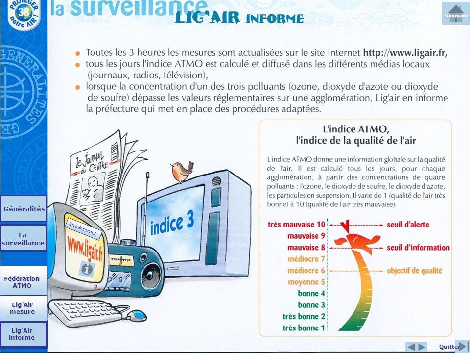 Généralités La surveillance