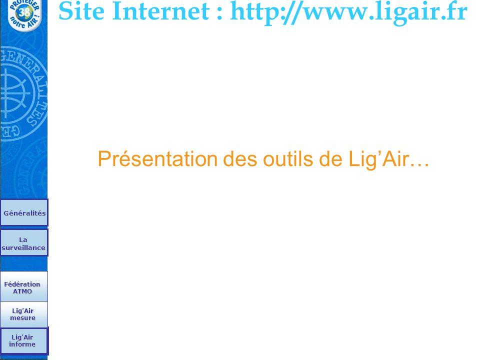 Présentation des outils de Lig'Air…