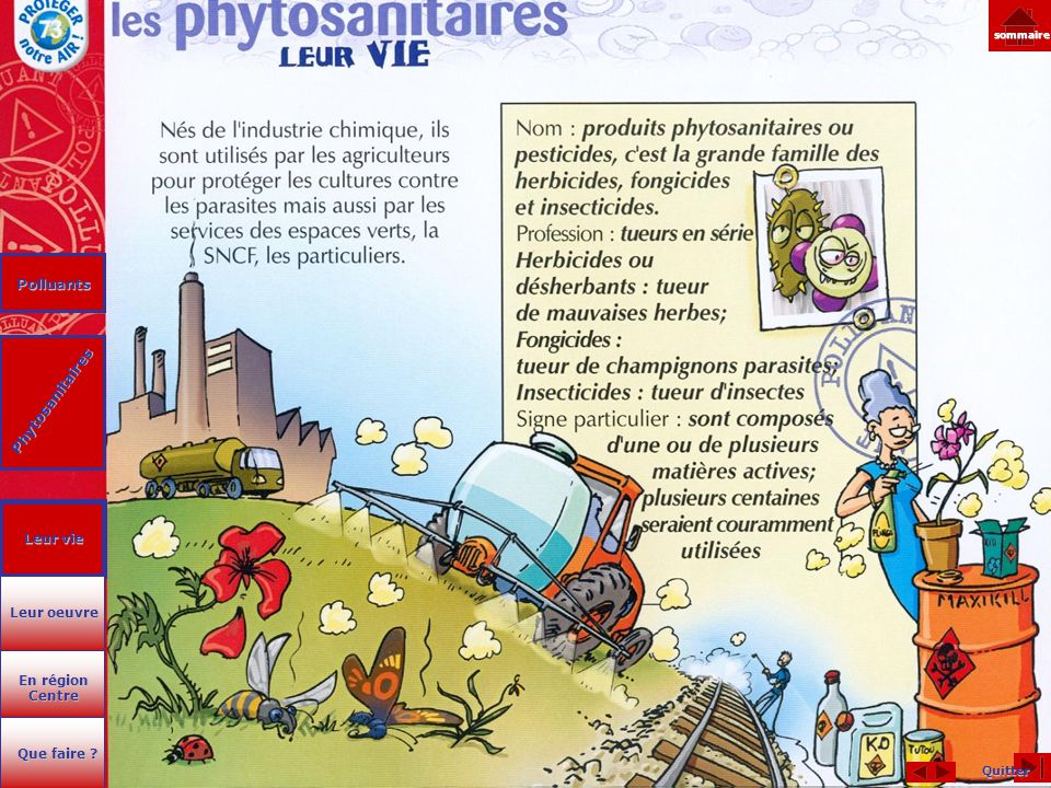 Polluants Phytosanitaires