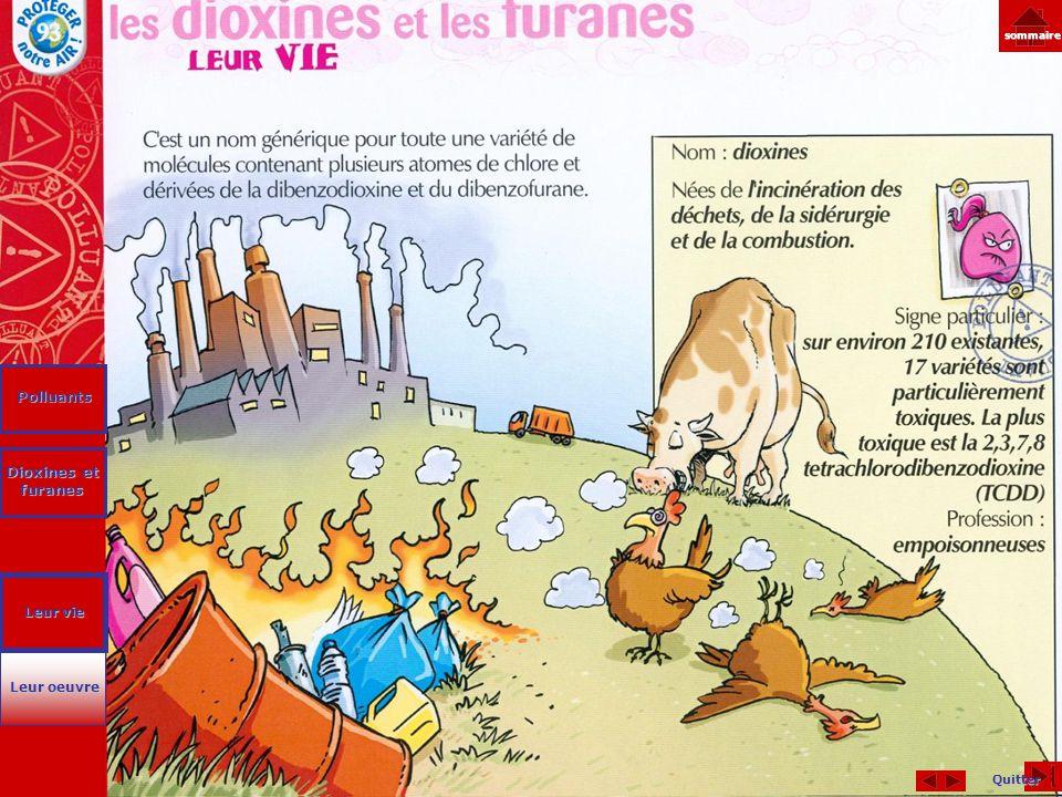 Polluants Dioxines et furanes