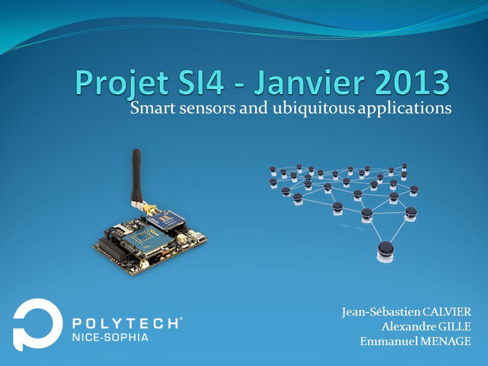 Smart sensors and ubiquitous applications
