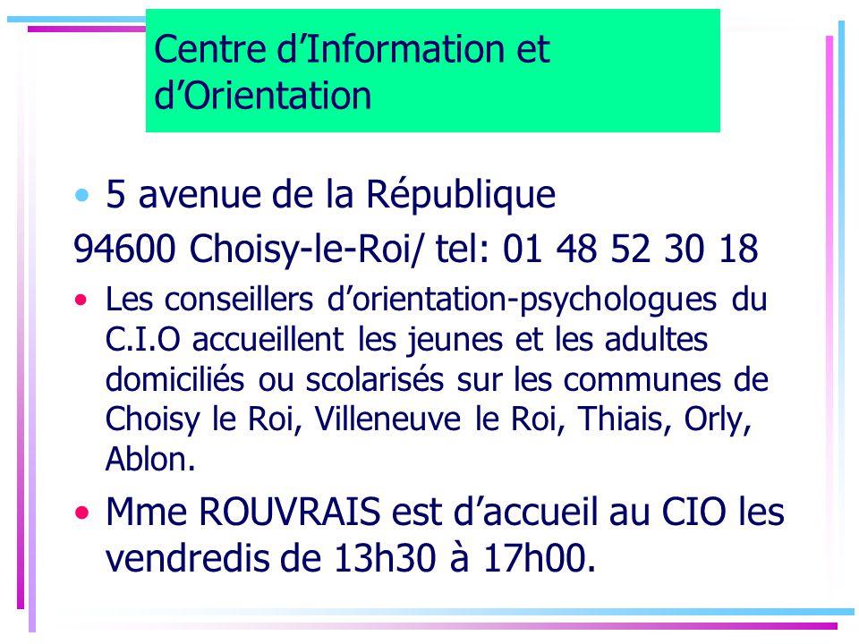 Centre d'Information et d'Orientation