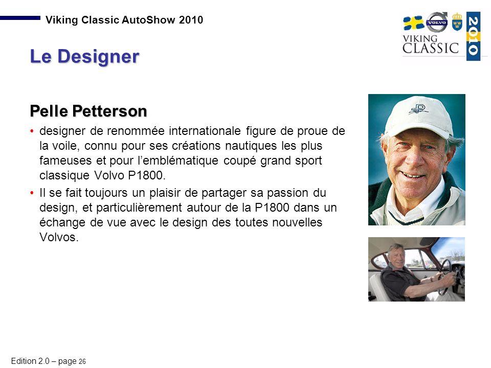 Le Designer Pelle Petterson
